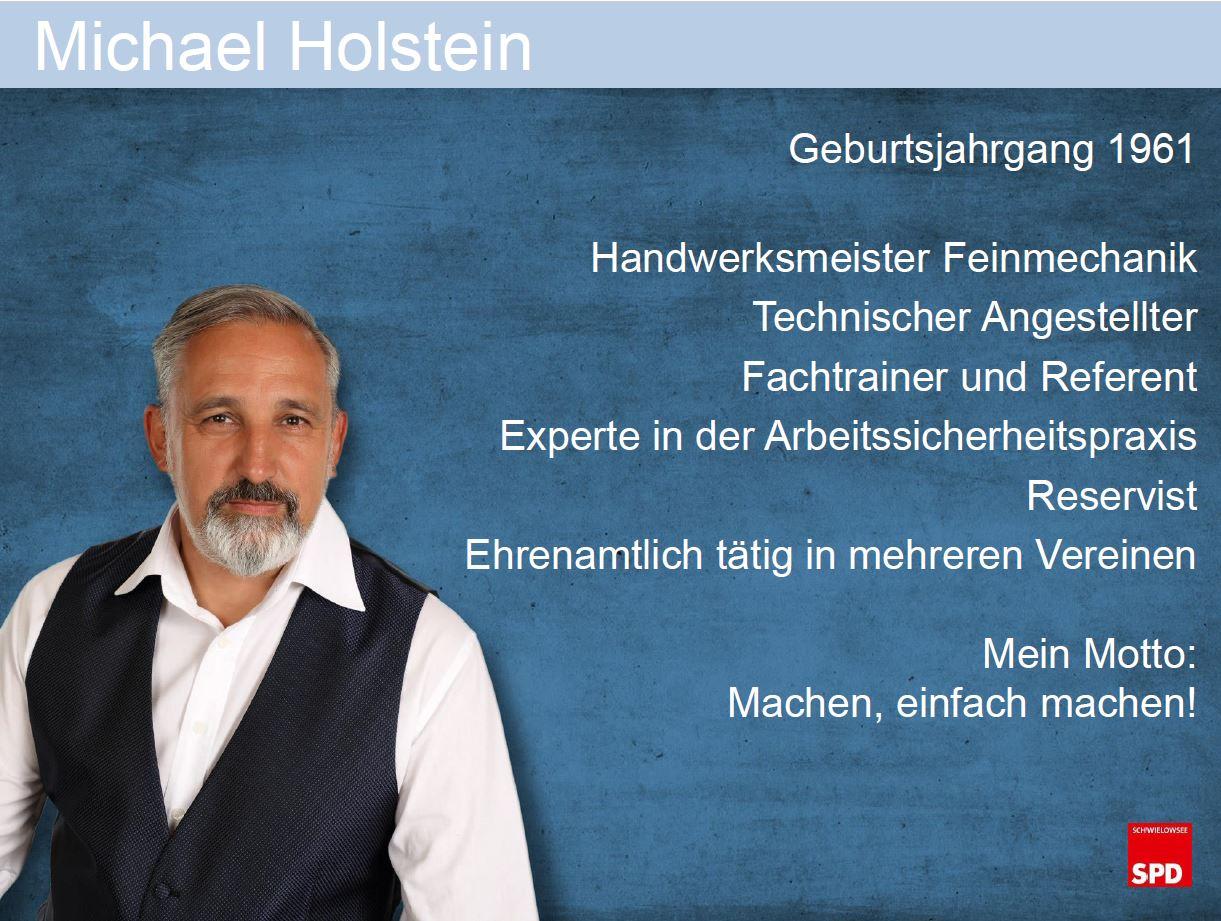 Vita Michael Holstein